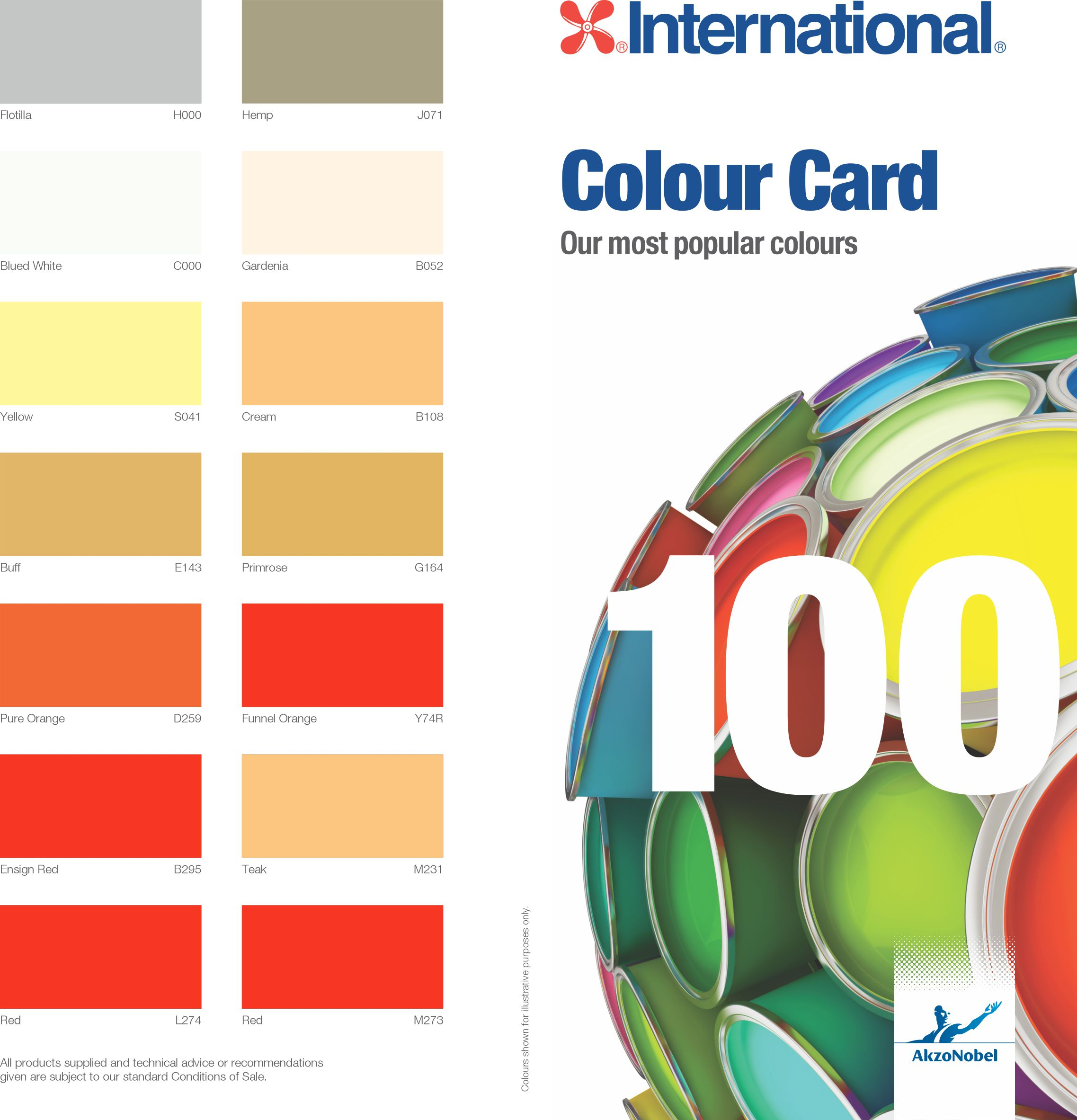 Colour card 100 international paint shc colour card 100 international paint nvjuhfo Image collections